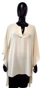 Adrienne Vittadini Flowy Loose Airy Sheer Tunic