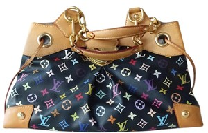 Louis Vuitton Ursula Lv Satchel in multicolor black