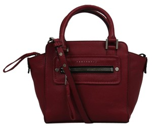 Sanctuary Clothing Red Leather Tote in Beet Root