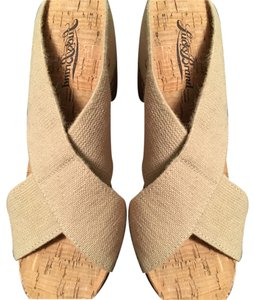 Lucky Brand Canvas Wedges