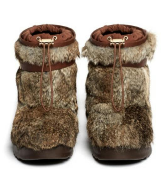 Tory Burch Brown & Almond Boots