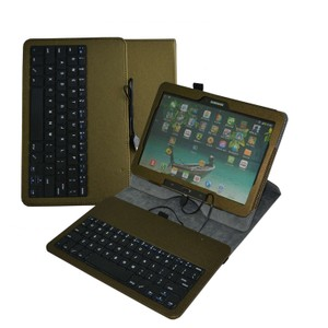 Mama Mouth Rotary Stand PU Leather Case Cover With Removable Micro USB Keyboard