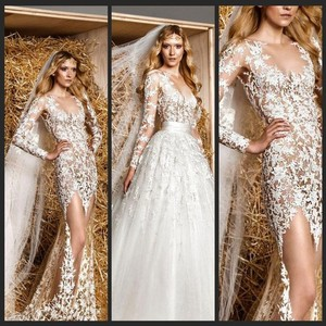 Designer Inspied Wedding Gown Size 8-12us Wedding Dress