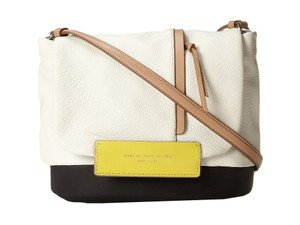 Marc by Marc Jacobs Round The Way Girl Swan White Multi Messenger Bag