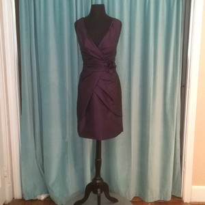 Val Stefani Plum Eggplant Vs9291 Dress
