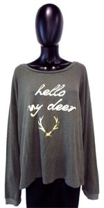 Southward Apparel Deer Comfy Loose Sweater