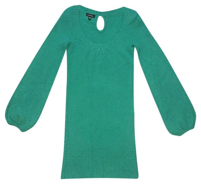 Item - Green (Envious) Mid-length Night Out Dress Size 8 (M)