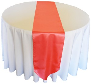 New Coral Table Runners