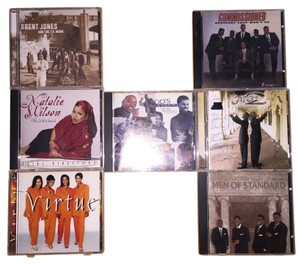 Gospel Groups 8- CD Set; Men of Standard, God's Property, Commissioned, Virtue, Natalie Wilson & The SOP Chorale, Brent Jones and the T.P. Mobb, Catch 2 [ SisterSoul Closet ]