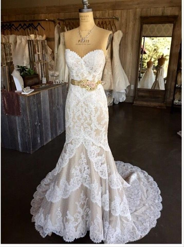 Matthew christopher emma wedding dress tradesy for Matthew christopher wedding dress prices