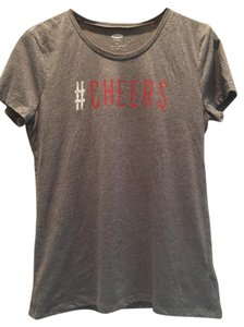 Old Navy Cheers Graphic Tee T Shirt Gray
