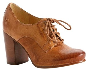 Frye Oxford Heel Fall Bootie Camel Boots