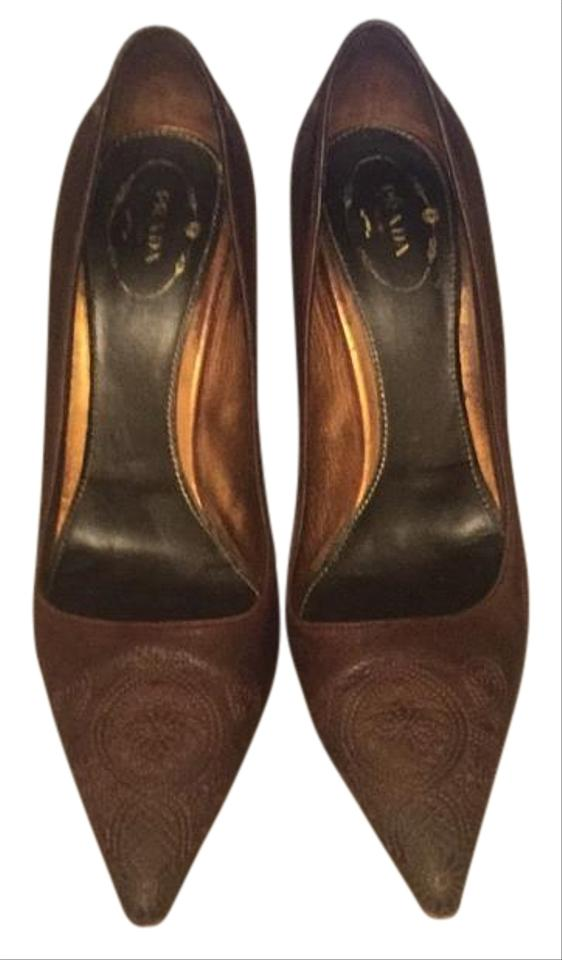 WOMEN and Prada Brown Pumps Stylish and WOMEN charming 2e5a20