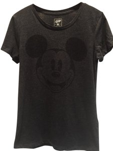 Old Navy Mickey Vampire T Shirt Black