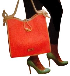 Elaine Turner Tote in Coral
