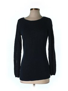 Rachel Zoe Crochet Detail Sweater