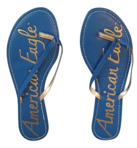 American Eagle Outfitters Blue Sandals