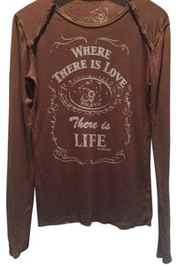 Pure T T Shirt Brown