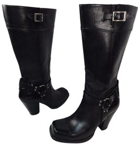 Harley Davidson Motorcycle Riding Sexy Womens black Boots