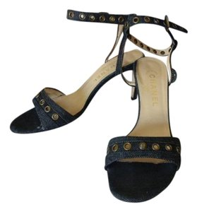 Chanel DENIM CANVAS Sandals