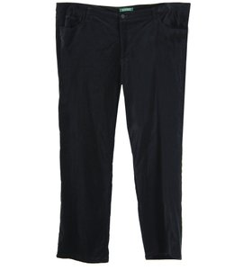Ralph Lauren Straight Pants Black