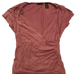 New York & Company Top Pink/purle