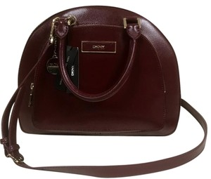 DKNY Satchel in Burgundy