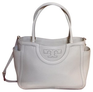 Tory Burch Dust Sold Out Satchel in Off White