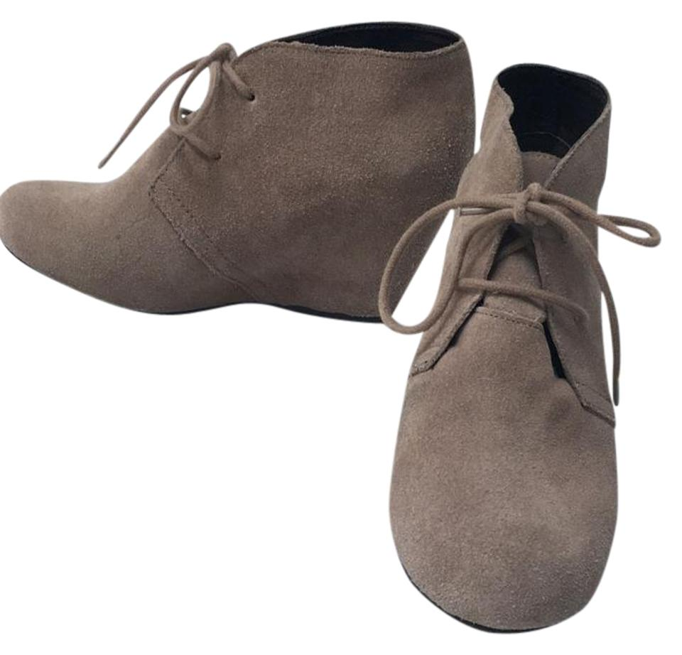 Dolce Dolce Dolce Vita Taupe Wedge Heel Boots/Booties 13980e