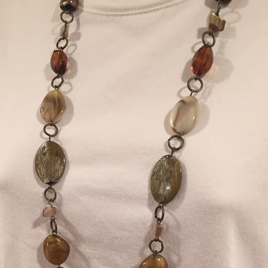 Unknown Long Stone Necklace
