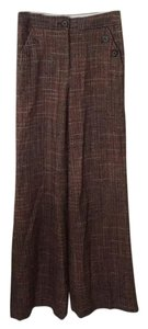 Anthropologie Flare Pants Multicolored