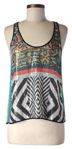 Clover Canyon Sequin Embellished Top