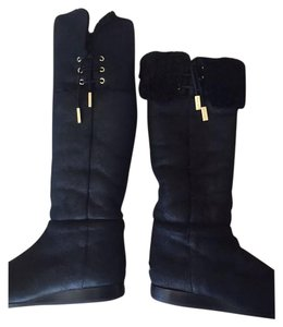 Jimmy Choo Black gold Boots
