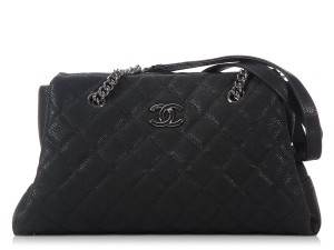 Chanel Quilted Cell Pocket Tote