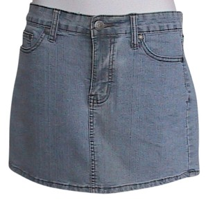 Botin Jeans Mini Skirt