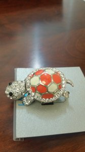 Bleulab NWT One-size, stretch, moveable turtle ring