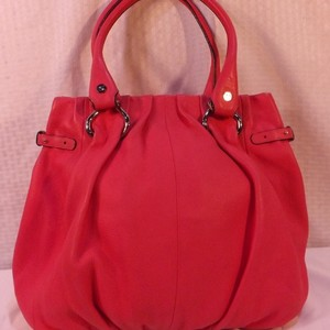 Céline Satchel in Coral