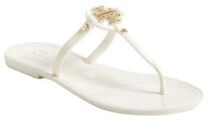 Tory Burch Ivory gold Sandals
