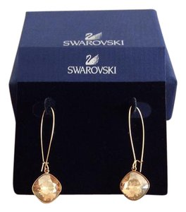 Swarovski Swarovski Crystal Thankful Golden Shadow Pierced Earrings