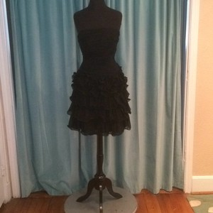 Andrew Adela Black Dress