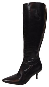 Via Spiga Tall Boot Knee High Leather Brown Boots