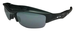 Oakley New Oakley Sunglasses FLAK JACKET 03-881 Black w/ Black Iridium