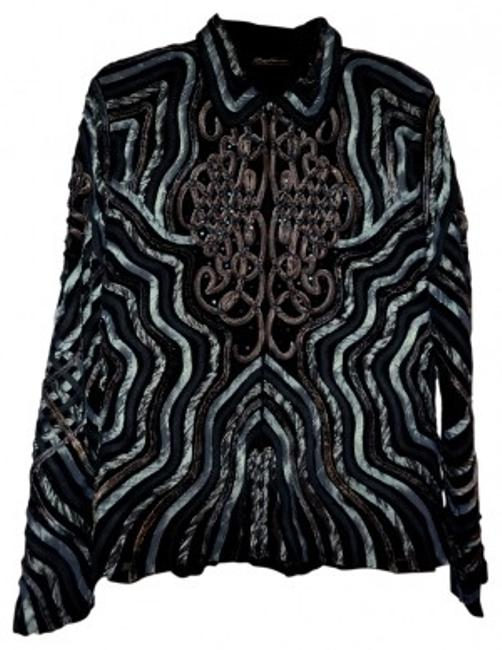 Preload https://img-static.tradesy.com/item/19491/ika-butoni-blue-grays-black-and-taupe-asian-designer-night-out-top-size-12-l-0-0-650-650.jpg
