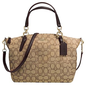 Coach Small Kelsey Satchel in khakhi