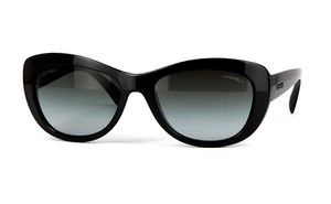 Chanel CH 6038 H 501 - BLACK GORGEOUS CAT EYE SUNGLASSES -FREE 2 DAY SHIPPING