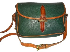 Dooney & Bourke Green Messenger Bag