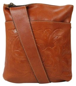 Patricia Nash Designs Tooled Florence Cross Body Bag
