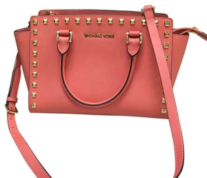 Michael Kors Satchel in Pink Grapefruit