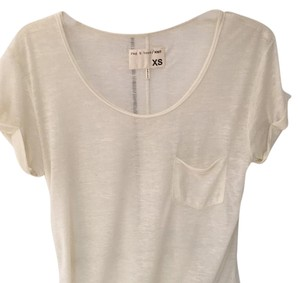 Rag & Bone T Shirt Cream