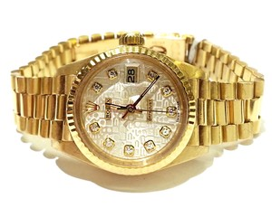 Rolex Ladies Datejust President 18 karat Solid Yellow Gold With Diamond Dial. Comes With A FREE GIFT!!!!